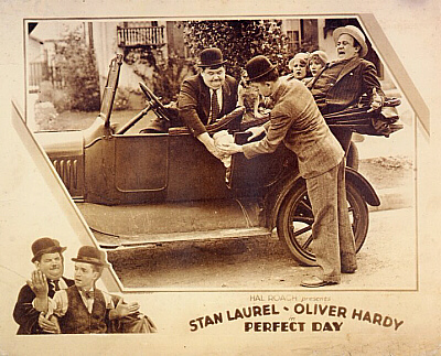 Perfect Day Laurel hardy