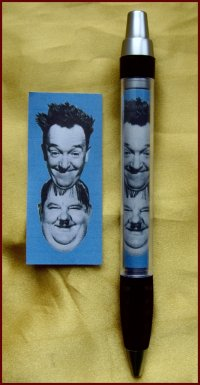 Laurel and Hardy CLUB PEN