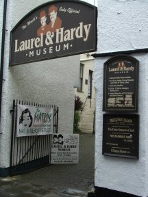 The laural laurel lorel and hardy museum dick und Doof