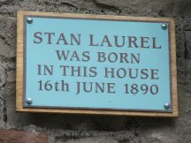 Stan laurel plaque