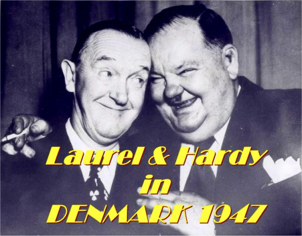 Laurel and Hardy in Denmark