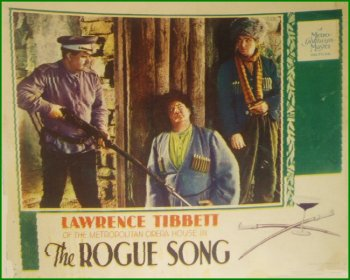 Laurel and Hardy as Bandits in the Rogue Song
