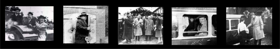 Laurel and Hardy at the Romney Hythe and Dymchurch Railway
