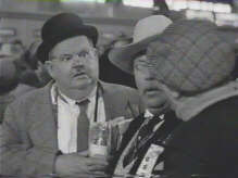 Laurel and hardy Oliver in Riding High