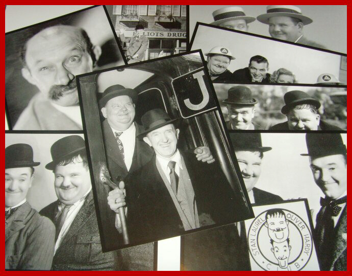 Laurel and Hardy Rare and Press prints