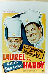 Stan laurel and Oliver Hardy poster