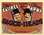 Laurel & Hardy in BLOCKHEADS