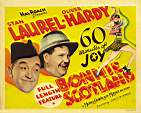 Laurel and hardy Bonnie Scotland