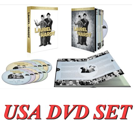 LAUREL & HARDY: THE ESSENTIAL COLLECTION Lands On DVD