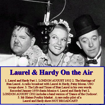 Laurel and Hardy ON THE AIR CD