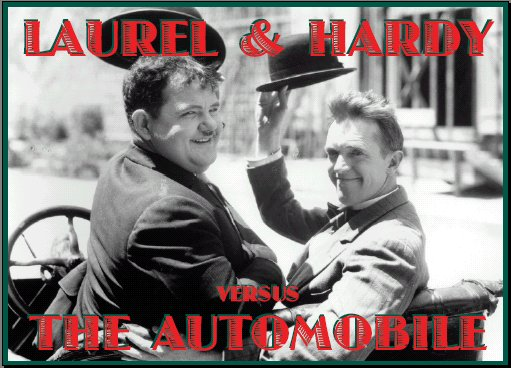 Laurel and Hardy versus the Automobile