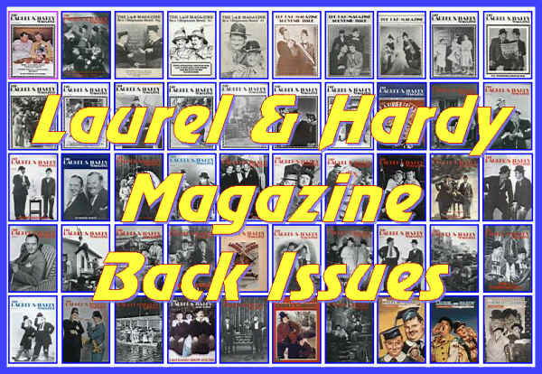 Laurel and Hardy Magazine Back Issues