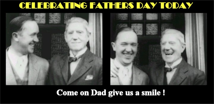 Stan Laurel and Father