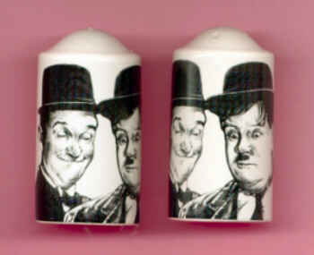 laurel and hardy salt and pepper