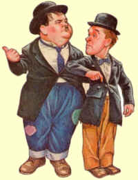 Laurel and Hardy stamp