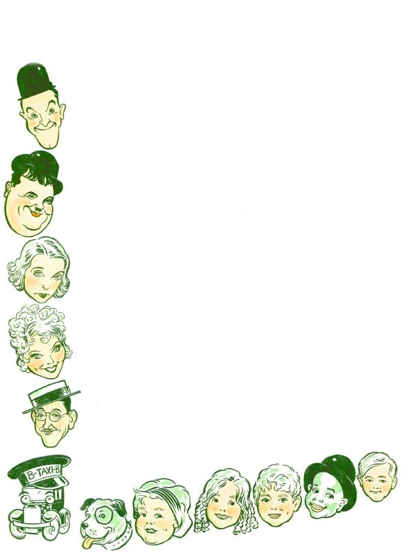 Laurel and Hardy white paper